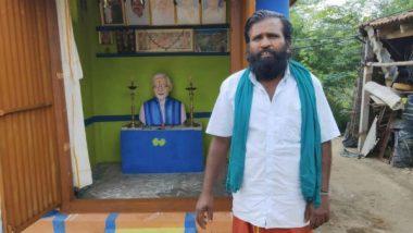 पंतप्रधान नरेंद्र मोदींसाठी भक्ताने बांधले मंदिर; देव समजून रोज करतो पूजा व आरती (Photo)