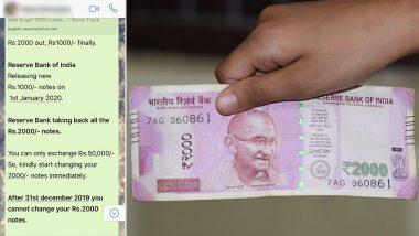 Fact Check: 2000 हजारांच्या नोटा बंद होणार? 1 हजाराच्या नव्या नोटा चलनात येणार? जाणून घ्या काय आहे सत्य