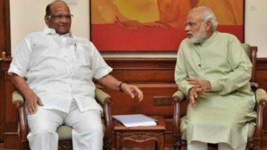पंतप्रधान नरेंद्र मोदी यांनी ट्विटरच्या माध्यमातून शरद पवारांना आपल्या अनोख्या अंदाजात दिल्या वाढदिवसाच्या खास शुभेच्छा
