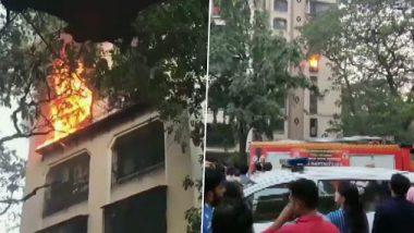 मुंबई: घाटकोपर येथील एका इमारतीला आग; अग्निशमनदलाच्या 5 गाड्या घटनास्थळी दाखल