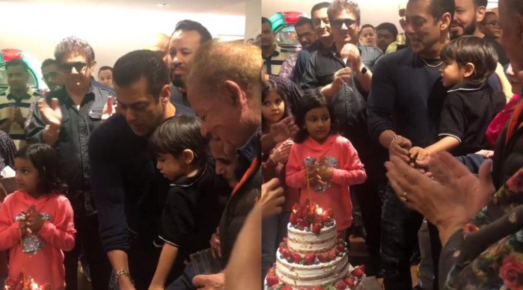 Salman Khan Birthday Party: पाहा सलमान खान च्या बर्थडे पार्टी मधील Cake Cutting चा हा खास व्हिडिओ