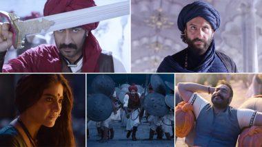 Ghamand Kar Song in Tanhaji: मराठ्यांच्या अंगात सळसळत रक्त निर्माण करणारे अजय देवगणच्या अंदाजातील तानाजी चित्रपटातील 'घमंड कर' गाणे एकदा नक्की पाहा; Watch Video