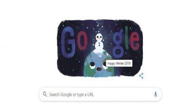 हिवाळी हंगाम 2019: Google ने Doodle बनवून नव्या उत्तरायणरंभाच्या दिल्या शुभेच्छा