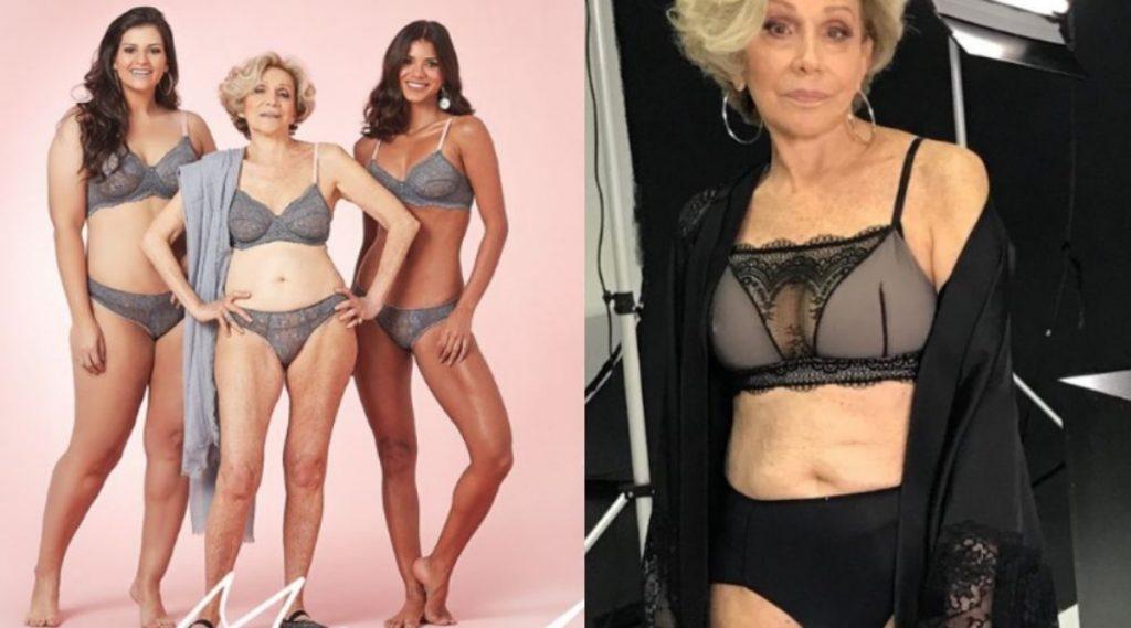 79 वर्षांच्या आजीबाई बनल्या Lingerie Model; भल्या भल्या तरुणींना देत आहेत आव्हान (Photo)