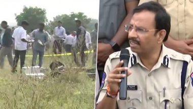 Hyderabad Encounter: स्व संरक्षणातून पोलिसांना एनकाऊंटर करावा लागला : सायबराबाद पोलीस आयुक्त व्ही. सी. सज्जनार यांची पत्रकार परिषदेत माहिती