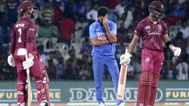 IND vs WI 2019: पहिल्या वनडे मॅचमधीलधीम्याखेळीचावेस्ट इंडिजला फटका,स्लो ओव्हर रेटसाठी ICC नेठोकला80 टक्केदंड