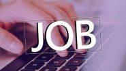 Western Coalfield Recruitment 2021: स्टाफ नर्स ट्रेनी पदासाठी नोकर भरती, westerncoal.in वर करता येईल अर्ज
