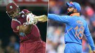 WI 207/5 (20 Overs) | IND vs WI 1st T20I Live Score Updates: वेस्ट इंडिजने भारताला दिले 208 धावांचे मोठे लक्ष्य