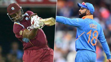 IND 18/0 in 2.2 Overs (Target 207/5) | IND vs WI 1st T20I Live Score Updates: भारतासमोर 208 धावांचे आव्हान, केएल राहुल-रोहित शर्मा क्रीजवर