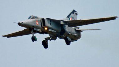 पंजाब: हवाई दलाचे मिग-29 लढाऊ विमान कोसळले, सुदैवाने पायलट बचावले