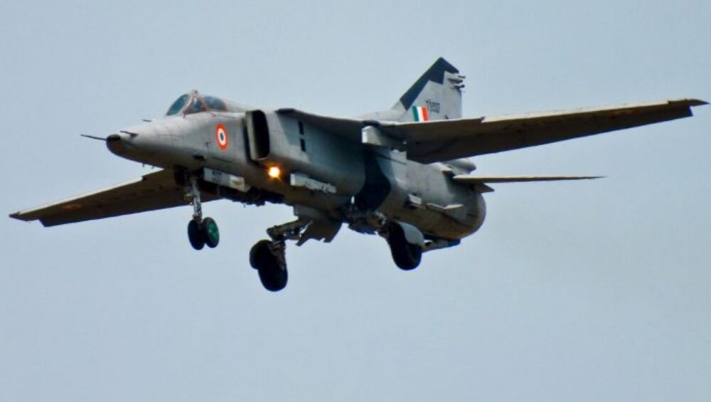 MiG-27 ला भारतीय वायुसेनेकडून अलविदा; जोधपूर एअरबेसवरून शेवटचं उड्डाण (Watch Video)