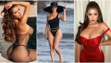 Demi Rose: डेमी रोज आणि Metallic Bikini; इन्स्टाग्रामवर फोटो पाहून चाहते अवाक