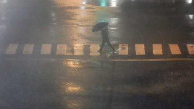 Rain in Mumbai: मुंबई शहरातील मुलुंड परिसरात पावसाचा मध्यरात्री शिडकाव