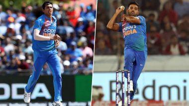 IND vs WI 3rd ODI: कटक वनडे मॅचमधून दीपक चाहर आऊट, नवदीप सैनी याचा टीम इंडियात समावेश