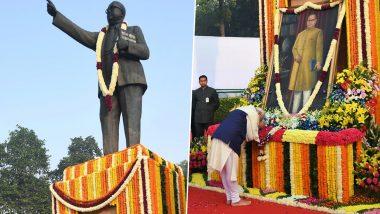 Dr BR Ambedkar Mahaparinirvan Din 2019: 63 व्या महापरिनिर्वाण दिन निमित्त चैत्यभूमी, संसद भवन परिसरात दिग्गजांचे डॉ. बाबासाहेब आंंबेडकर यांना अभिवादन! (Photos)
