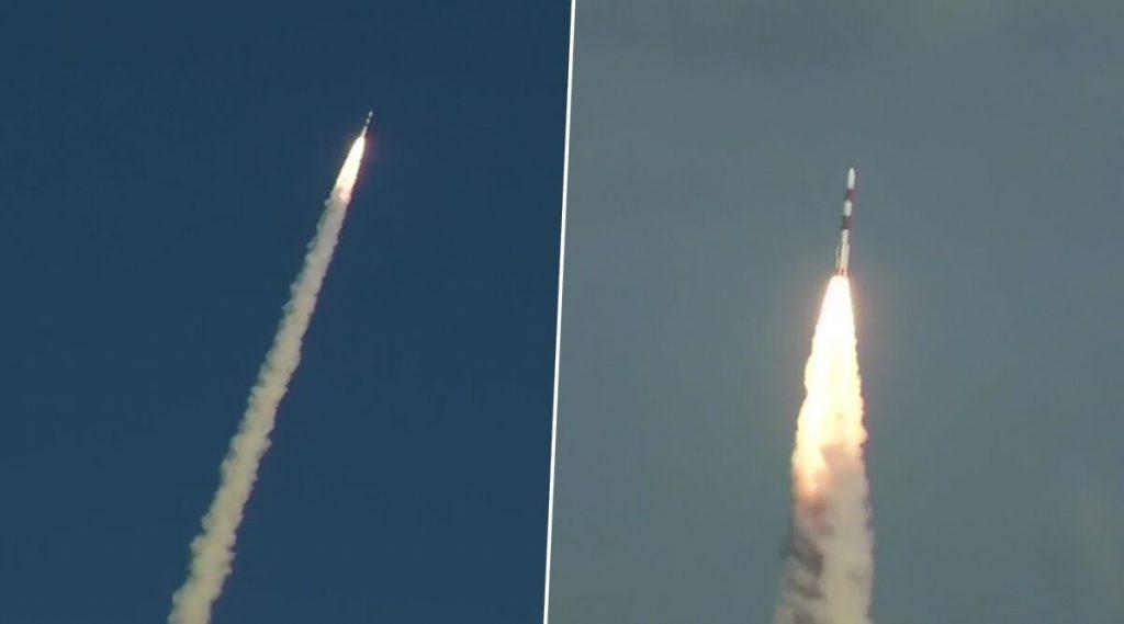 ISRO कडून RISAT-2BR1 सॅटेलाईट लॉन्च, पहा पहिला फोटो