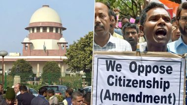 CAA विरुद्ध याचिकांवर सर्वोच्च न्यायलायाची नोटीस; केंद्र सरकारला उत्तर देण्यासाठी 4 आठवड्यांची मुदत