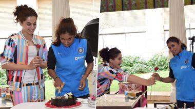 Happy Birthday Mithali Raj:तापसी पन्नू ने अशाप्रकारे साजरा केला मिताली राज चा वाढदिवस,बायोपिकची केली पुष्टी, पाहा Photo