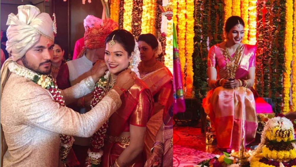 Manish Pandey-Ashrita Shetty Wedding: क्रिकेटर मनीष पांडे अडकला विवाहबंधनात, अभिनेत्री आश्रिता शेट्टीसोबत घेतले 'सात फेरे' (Photo)