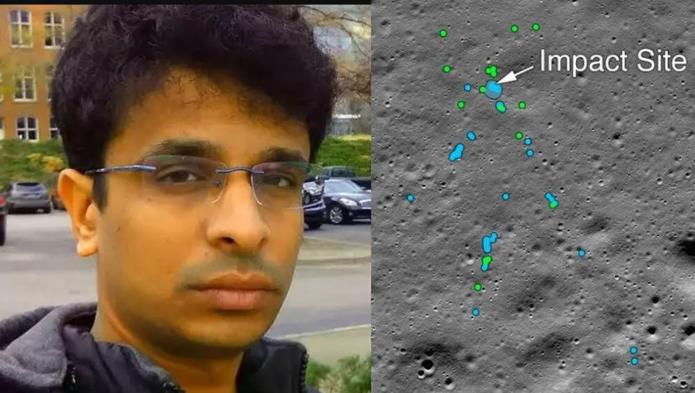 'विक्रम लँडर'चा शोध लावण्यात भारतीय अभियंत्याचे मोठे योगदान; पहा नक्की कसा शोधून काढला Vikram lander