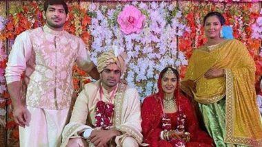 प्रसिद्ध भारतीय कुस्तीपटू बबिता फोगट हिने आपल्या पतीसोबत लग्नात घेतले आठ फेरी, या मागचे कारण ऐकून तुमचेही डोळे पाणावल्याखेरीज राहणार नाही