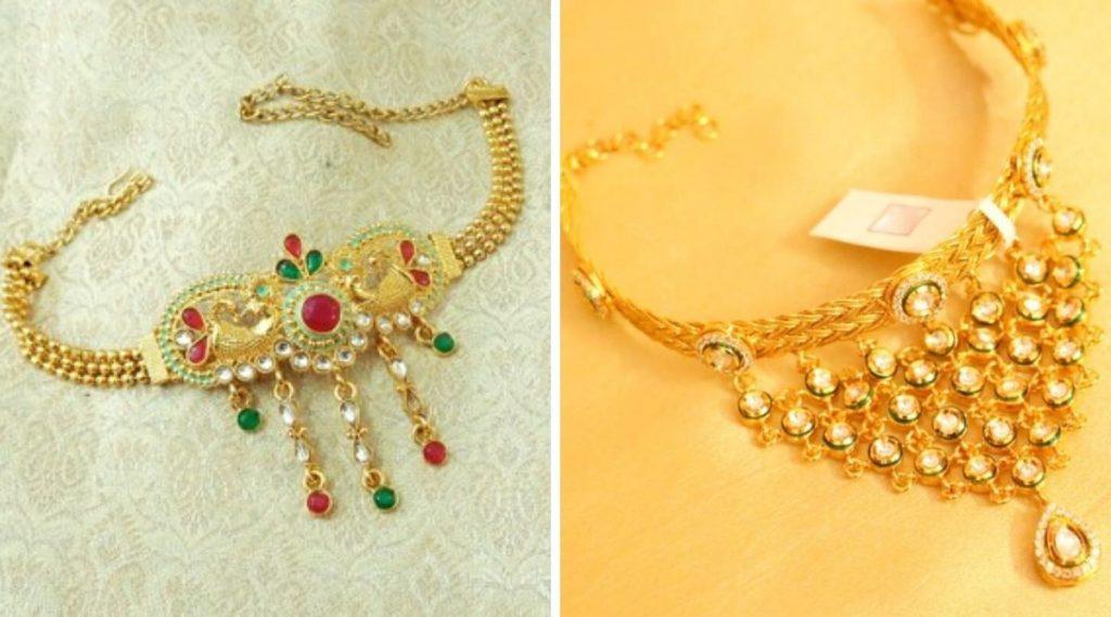 Wedding Jewellery Ideas: लग्नात नववधूच्या दंडावर खुलून दिसतील बाजूबंदाच्या या हटके डिझाईन्स; एकदा पाहाच