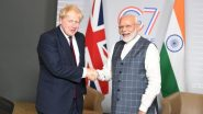ब्रिटनच्या पंतप्रधानपदी पुन्हा बोरिस जॉन्सन; PM नरेंद्र मोदी यांनी ट्वीटरच्या माध्यमातून दिल्या शुभेच्छा !
