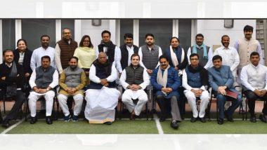 दिल्ली: महाविकास आघाडी मंत्रिमंडळ विस्तारानंतर कॉंग्रेस आमदार राहुल गांधी, सोनिया गांधी यांच्या भेटीला