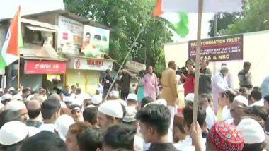 Anti CAA Protest: औरंगाबादमध्ये AIMIM, नागपूरमध्ये भारतीय मुस्लिम परिषदेकडून भव्य निषेध मोर्चा