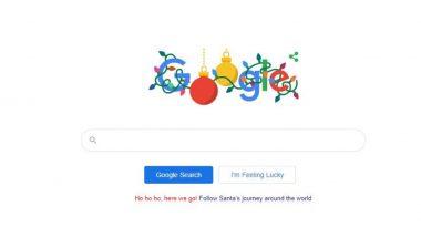 Holiday Season च्या शुभेच्छा देत गूगलने यंदा नाताळच्या दिवशी शेअर केलं खास डूडल!