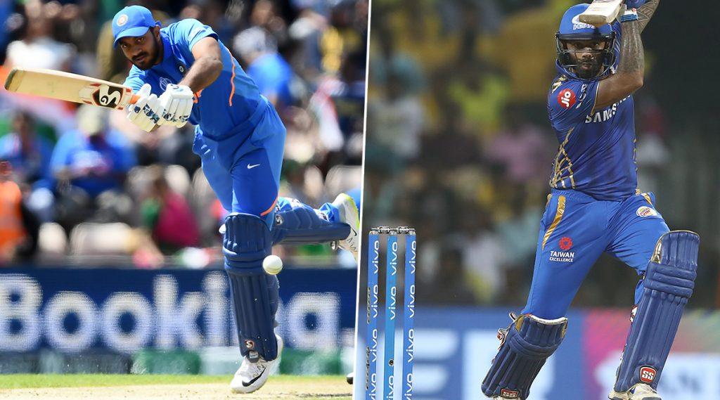 Ranji Trophy 2019-20:विजय शंकर याचीतमिळनाडूच्या कर्णधारपदी नियुक्ती,सूर्यकुमार यादव करणार मुंबईचे नेतृत्व