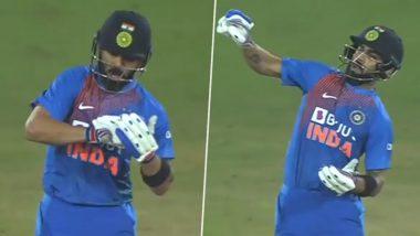 IND vs WI 1st T20I: विराट कोहली याला स्लेज करणे केसरीक विल्यम्स याला पडले महागात, संतप्तलेल्या 'किंग कोहली'ने या अंदाजात दिले प्रत्युत्तर, पाहा हा Video