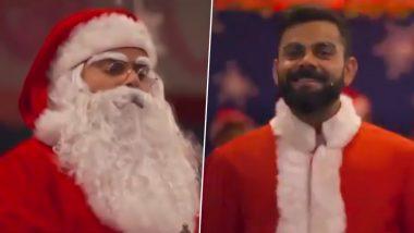 Christmas 2019: विराट कोहली याने सांता क्लॉज बनून शेल्टर होममधील मुलांना दिली नाताळची खास भेट, पाहा Video