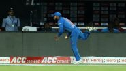 IND vs WI 2nd T20I: विराट कोहली बनला 'सुपरमॅन', बाउंड्री लाईनवर पकडलेल्या आश्चर्यकारक कॅचच Netizens कडून कौतुक, पाहा हा Video
