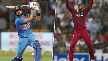 IND vs WI 3rd T20I: किरोन पोलार्ड याचा टॉस जिंकून पहिले बॉलिंगचा निर्णय; मोहम्मद शमी, कुलदीप यादव चा भारताच्याPlaying XI मध्ये समावेश