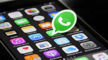 WhatsApp येत्या 1 फेब्रुवारी पासून 'या' स्मार्टफोनमध्ये होणार बंद