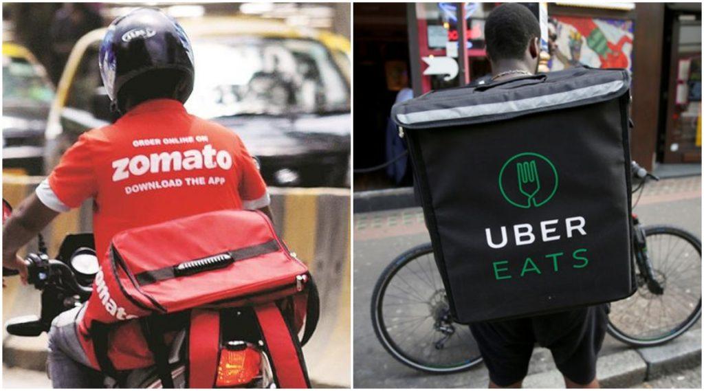Zomato विकत घेणार UberEats कंपनी; 15-20 कोटी रुपयांची गुंतवणूक होण्यीच शक्यता