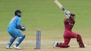 IND vs WI 1st ODI: चेन्नई वनडेमध्ये शिमरोन हेटमेयर-शाई होप ची तुफान बॅटिंग; वेस्ट इंडिजचा भारतावर 8 विकेटने विजय