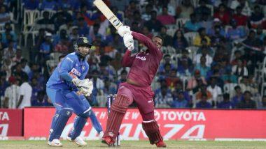 WI 283/10 in 43.3 Overs (Target 388)   IND vs WI 2nd ODI Live Updates: वेस्ट इंडिजवर 108 धावांनी विजय मिळवत भारताने मालिकेत1-1 ने केली बरोबरी