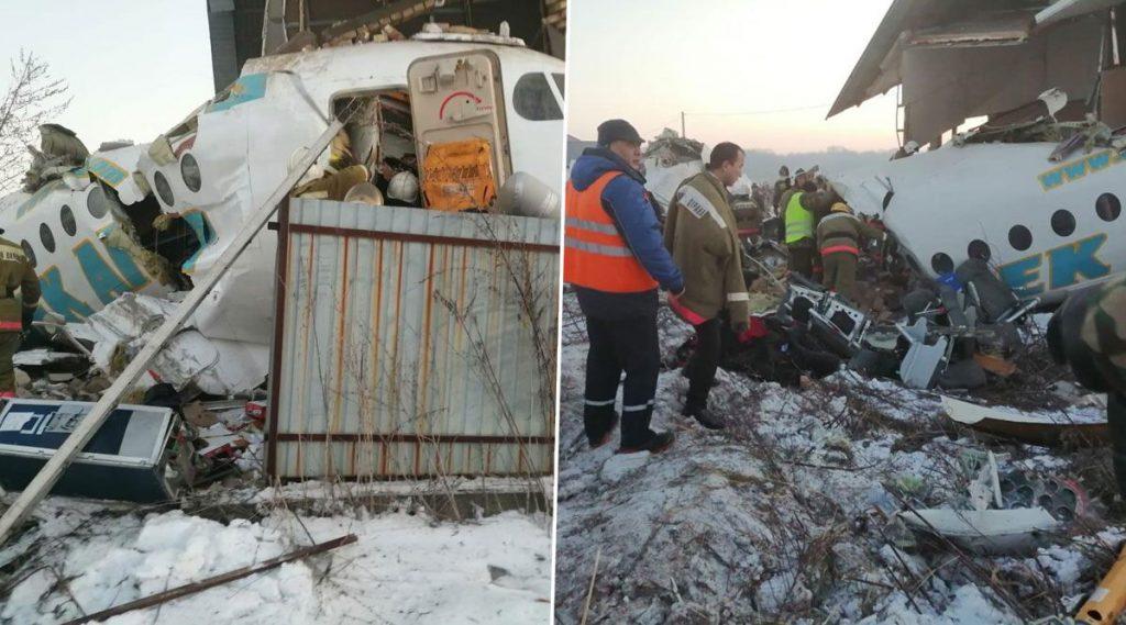 कजाकिस्तान: 100 प्रवाशांना घेऊन जाणारे विमान कोसळले; 9 जणांचा मृत्यू