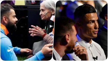 Year Ender 2019: विराट कोहली-रोहित शर्मा यांची 87 वर्षीय फॅनशी भेट, क्रिस्तियानो रोनाल्डो याच्याकडून लिओनल मेस्सी याला डिनरसाठी विचारणा यांसह अनेक घटनांनी संस्मरणीय ठरले हे 2019 वर्ष, (पाहा Video)