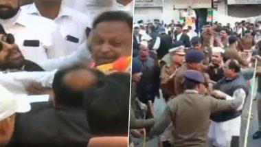 इंदौर: झेंडा कोणी फडकवायचा या वादातून काँग्रेस कार्यकर्त्यांमध्ये हाणामारी; पहा व्हायरल व्हिडिओ