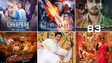 Films to watch in 2020: यंदा प्रदर्शित होणाऱ्या 'या' बॉलिवूड चित्रपटांची यादी तुम्हाला माहित आहेत का? पाहा कोणत्या चित्रपटात रंगणार चुरस