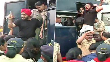 जेएनयू हिंसाचार: मुंबई मध्ये आंदोलक गेटवे ऑफ इंडिया वरून आझाद मैदानात स्थलांतरित; पोलिसांची कारवाई