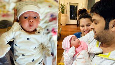 कपिल शर्मा ने त्याच्या बेबी गर्ल 'अनायरा शर्मा' ची पहिली झलक शेअर केली सोशल मीडियावर (Photos Inside)