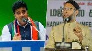 मनसे आक्रमक; असदुद्दीन ओवेसी यांच्या वक्तव्यावर महाराष्ट्र नवनिर्माण सेनेचे नेते अविनाश जाधव यांची संतप्त प्रतिक्रिया