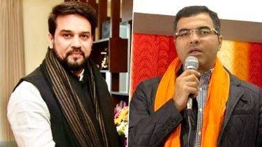 Delhi Assembly Election 2020: दिल्ली विधानसभा निवडणूक प्रचारादरम्यान वादग्रस्त विधान; भाजप खासदार अनुराग ठाकूर, प्रवेश वर्मा यांच्यावर प्रचारबंदी; निवडणूक आयोगाची कारवाई