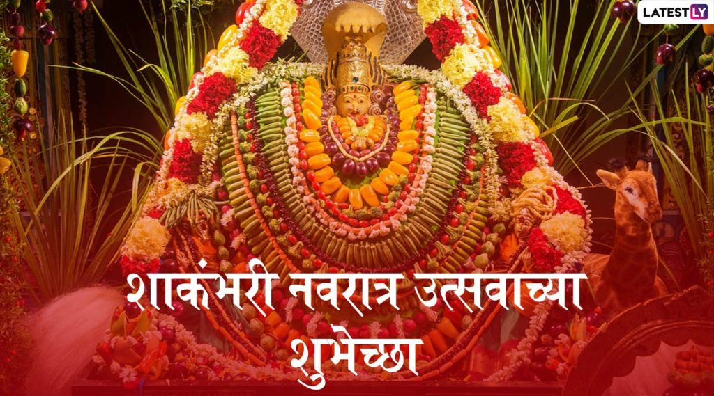Shakambari Navratri 2020 Wishes and Images: शाकंभरी नवरात्र निमित्त मराठमोळी HD Greetings, Wallpapers  शेअर करुन द्या नवरात्रोत्सवाच्या शुभेच्छा!