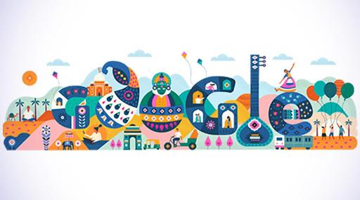 भारतीय प्रजासत्ताक दिन 2020: 71 व्या प्रजासत्ताक दिनानिमित्त भारतीय संस्कृतीचे दर्शन घडवत गुगलने बनवले खास डूडल