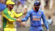 IND 107/1 in 21 Overs | (Target: 286/9) | IND vs AUS 3rd ODI Live Score Updates: भारताच्या100 धावा पूर्ण,विराट कोहली-रोहित शर्माचा मजबूत भागीदारी करण्याचा प्रयत्न